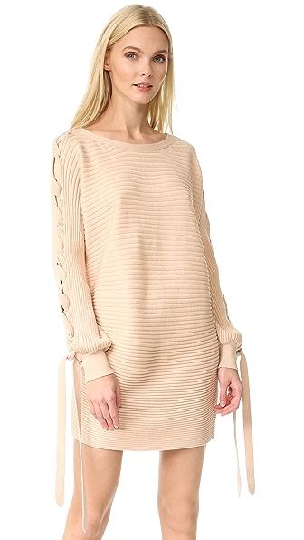 Designers Remix Ribly Sweater Dress - Powder