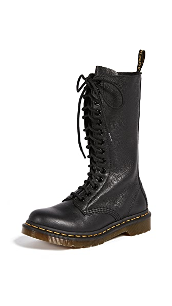 Dr. Martens 1B99 14 Eye Zip Boots In Black