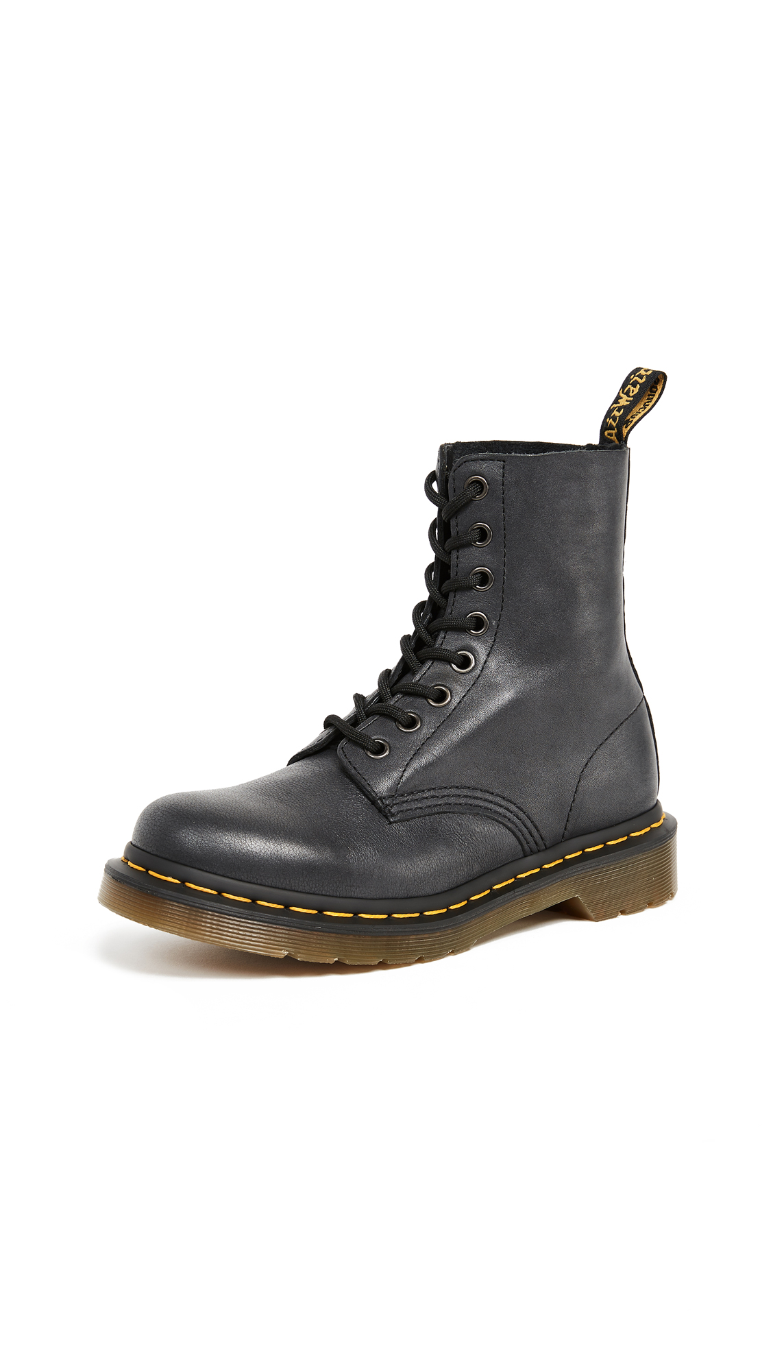 Dr. Martens Pascal 8 Eye Boots - Black