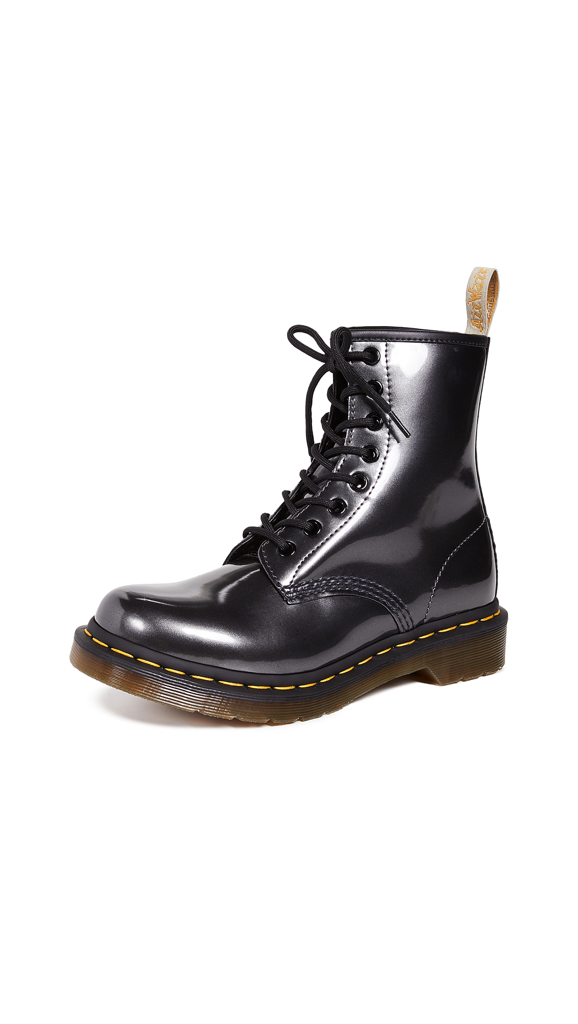 Dr. Martens 1460 Vegan Chrome 8 Eye Boots