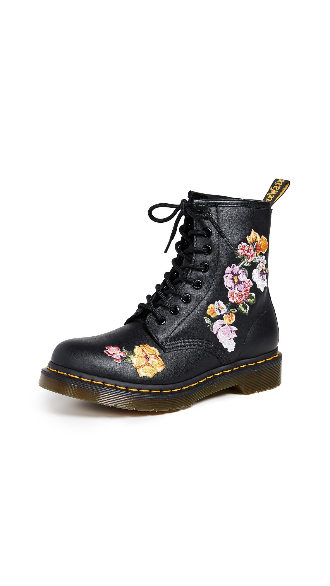 Dr. Martens 1460 Vonda II 8 Eye Boots - Black