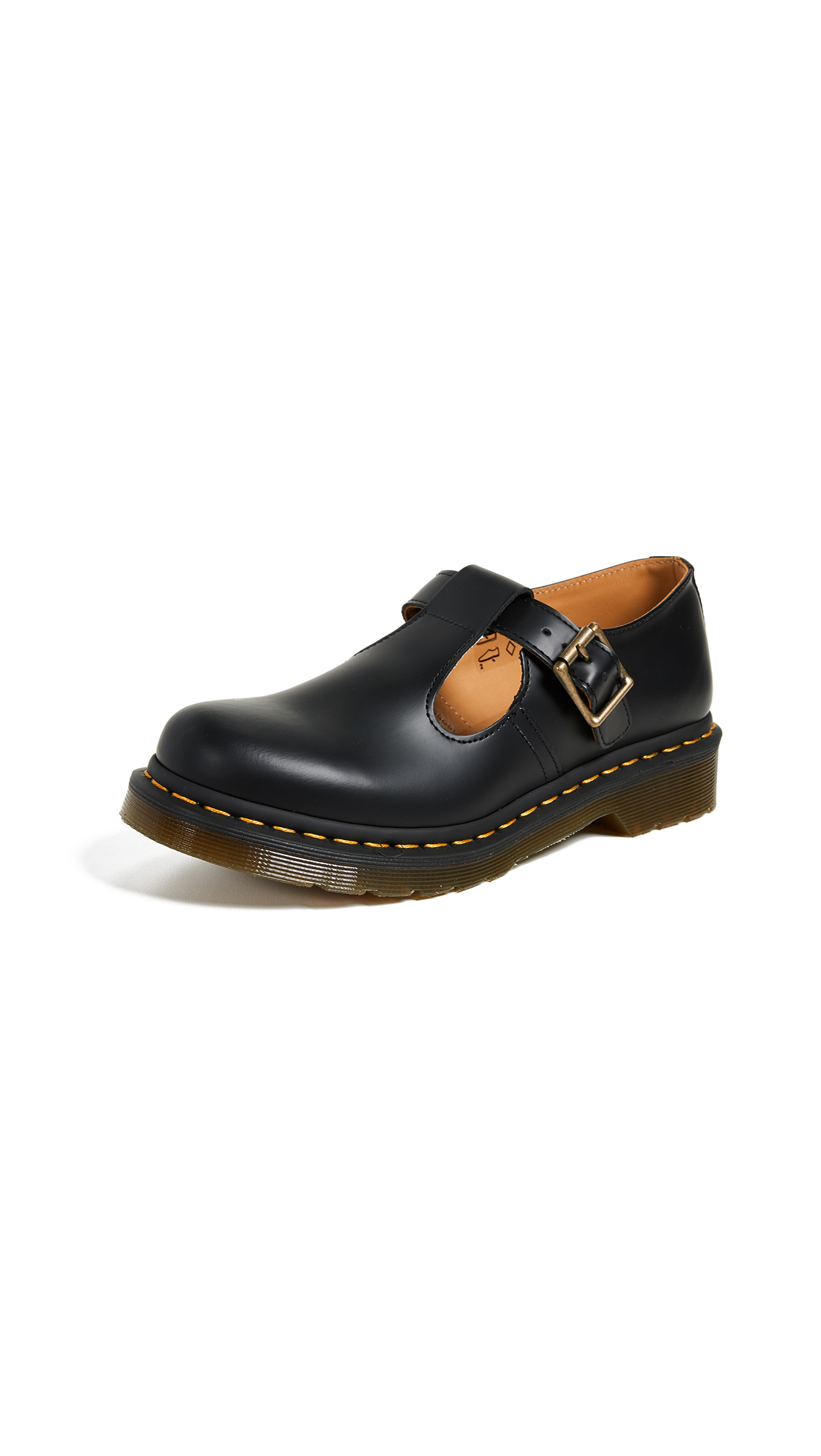 Buy Dr. Martens Polley T Bar Shoes online, shop Dr. Martens