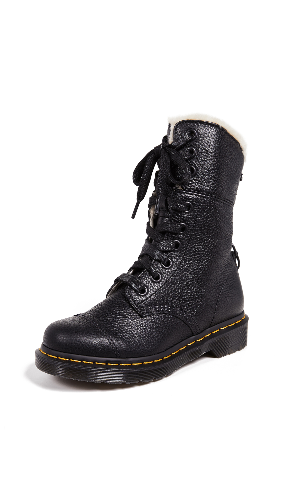 Buy Dr. Martens Aimilita FL 9 Eye Boots online, shop Dr. Martens