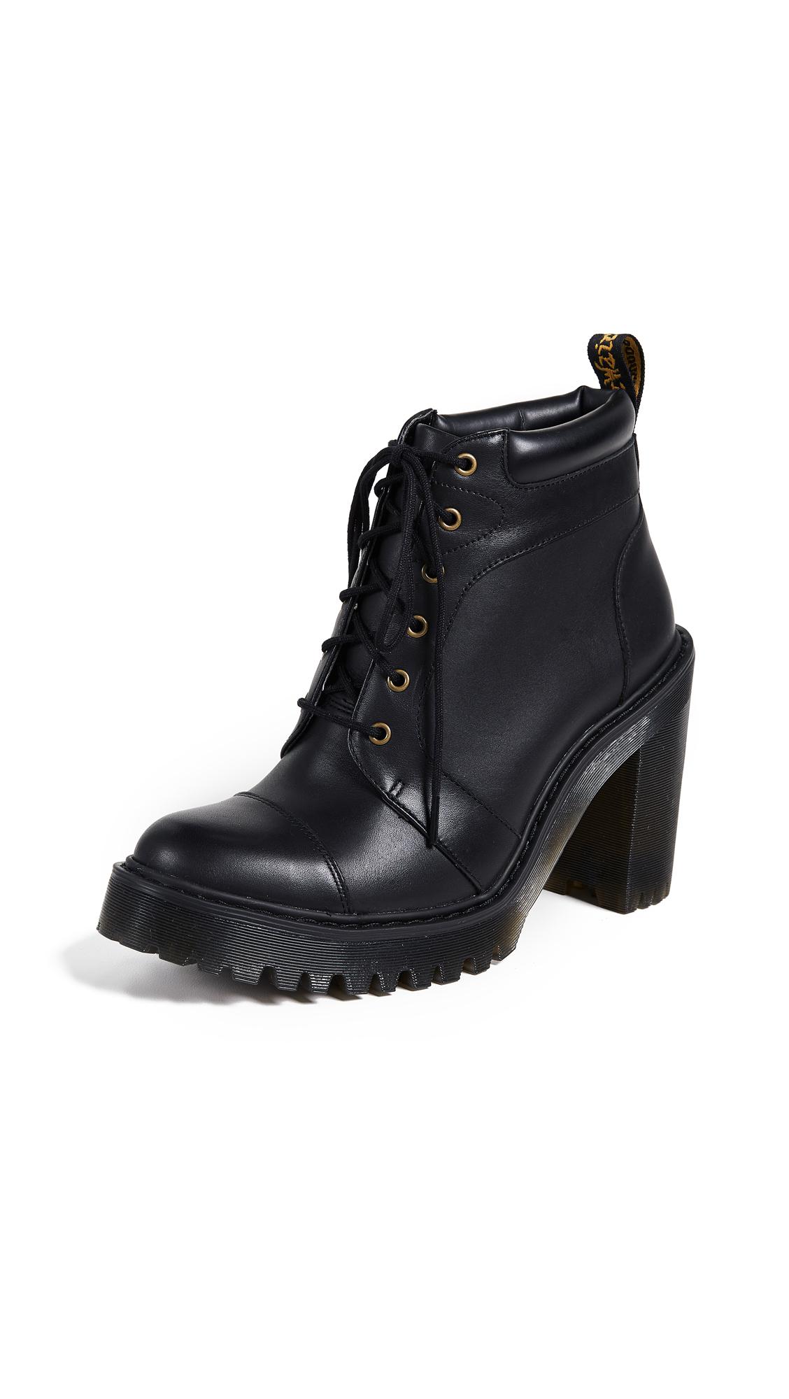Dr. Martens Averil 6 Eye Boots - Black