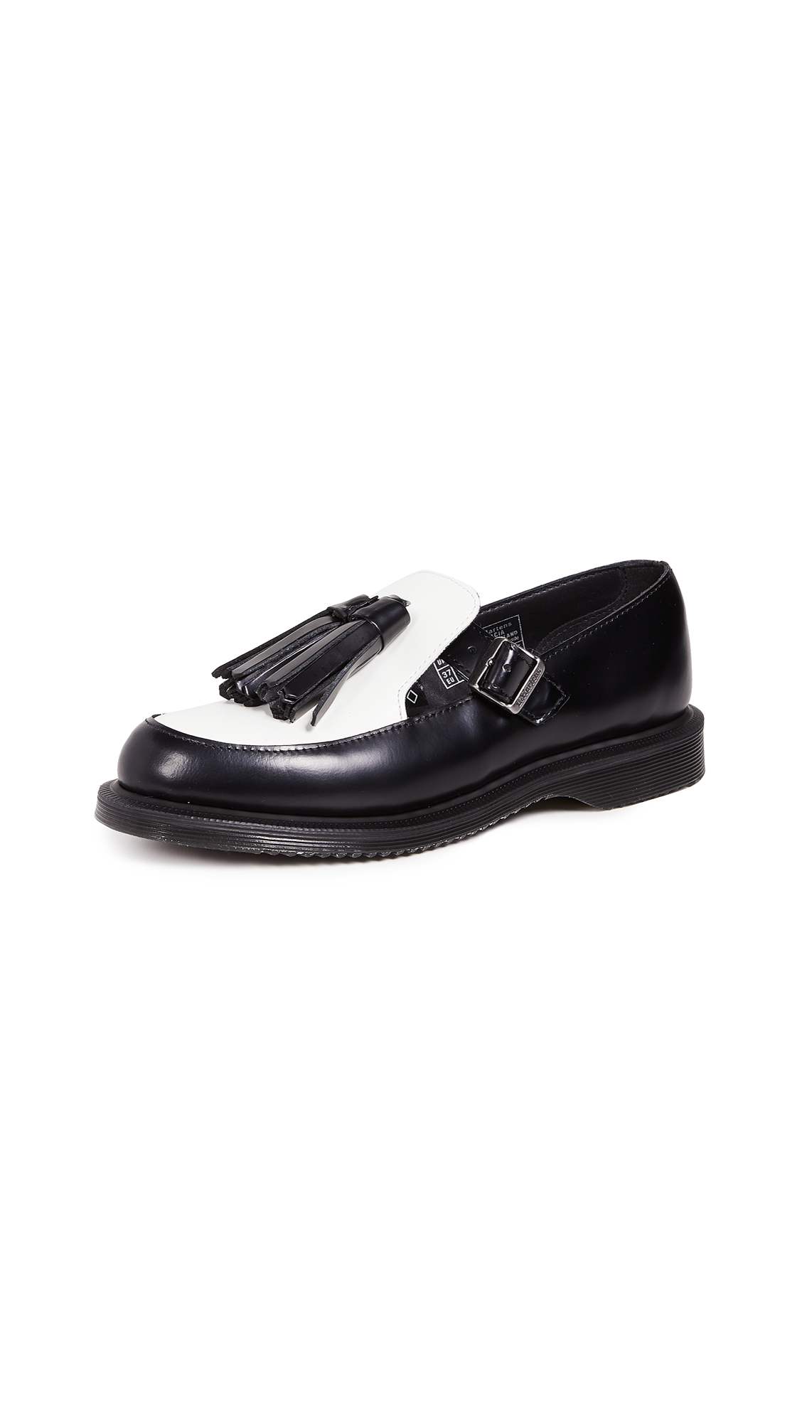 Gracia Mary Jane Shoes, Black