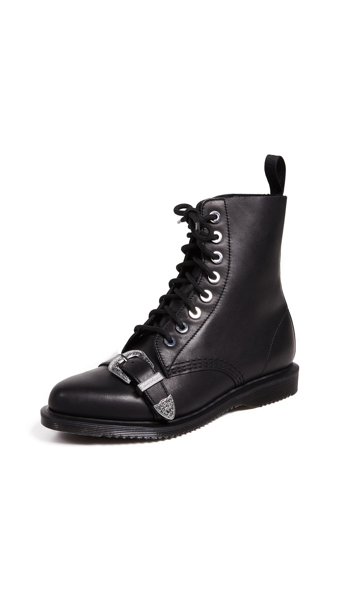 Dr. Martens Ulima 8 Eye Boots - Black