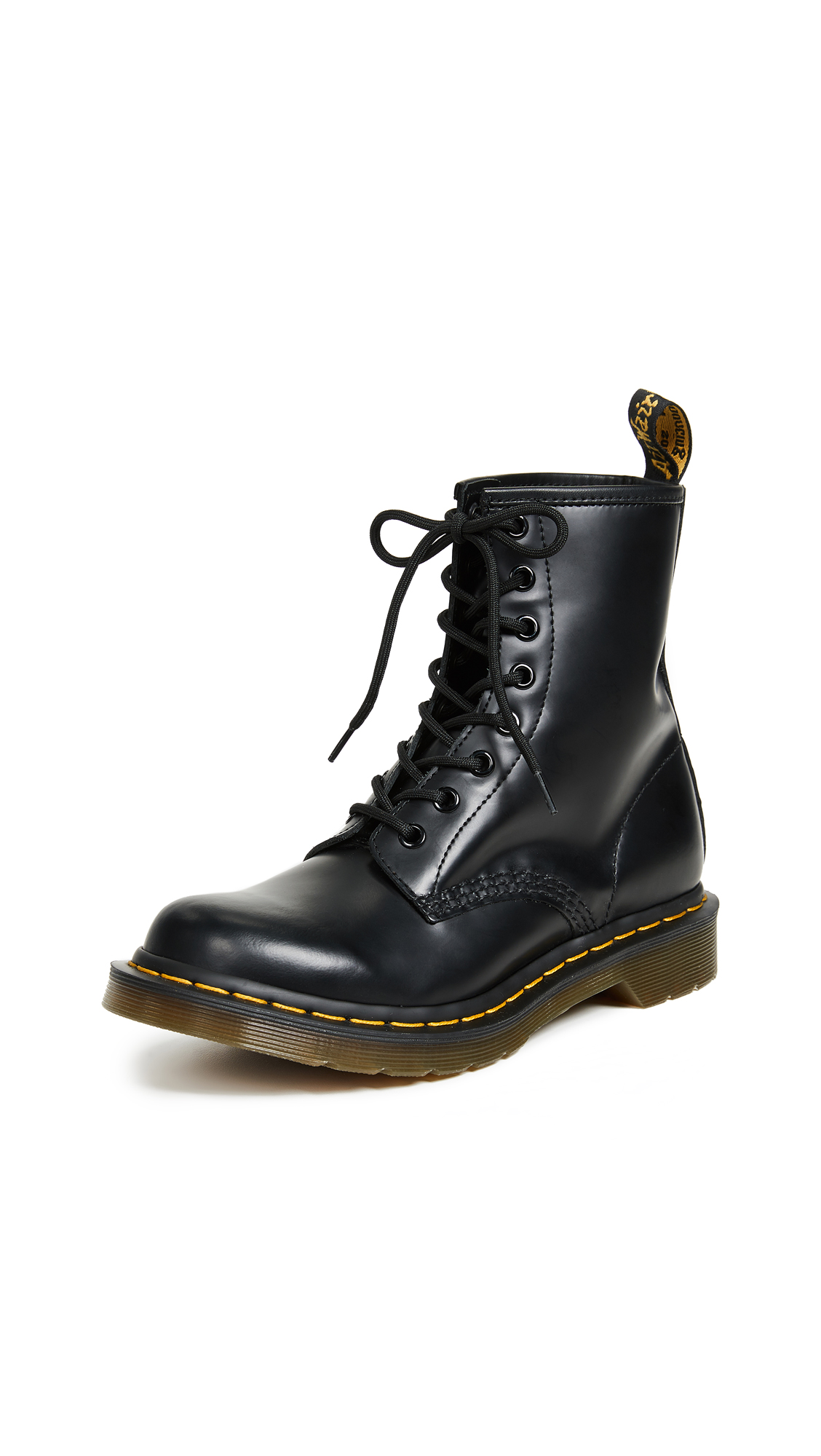 Dr. Martens 1460 8 Eye Boots - Black