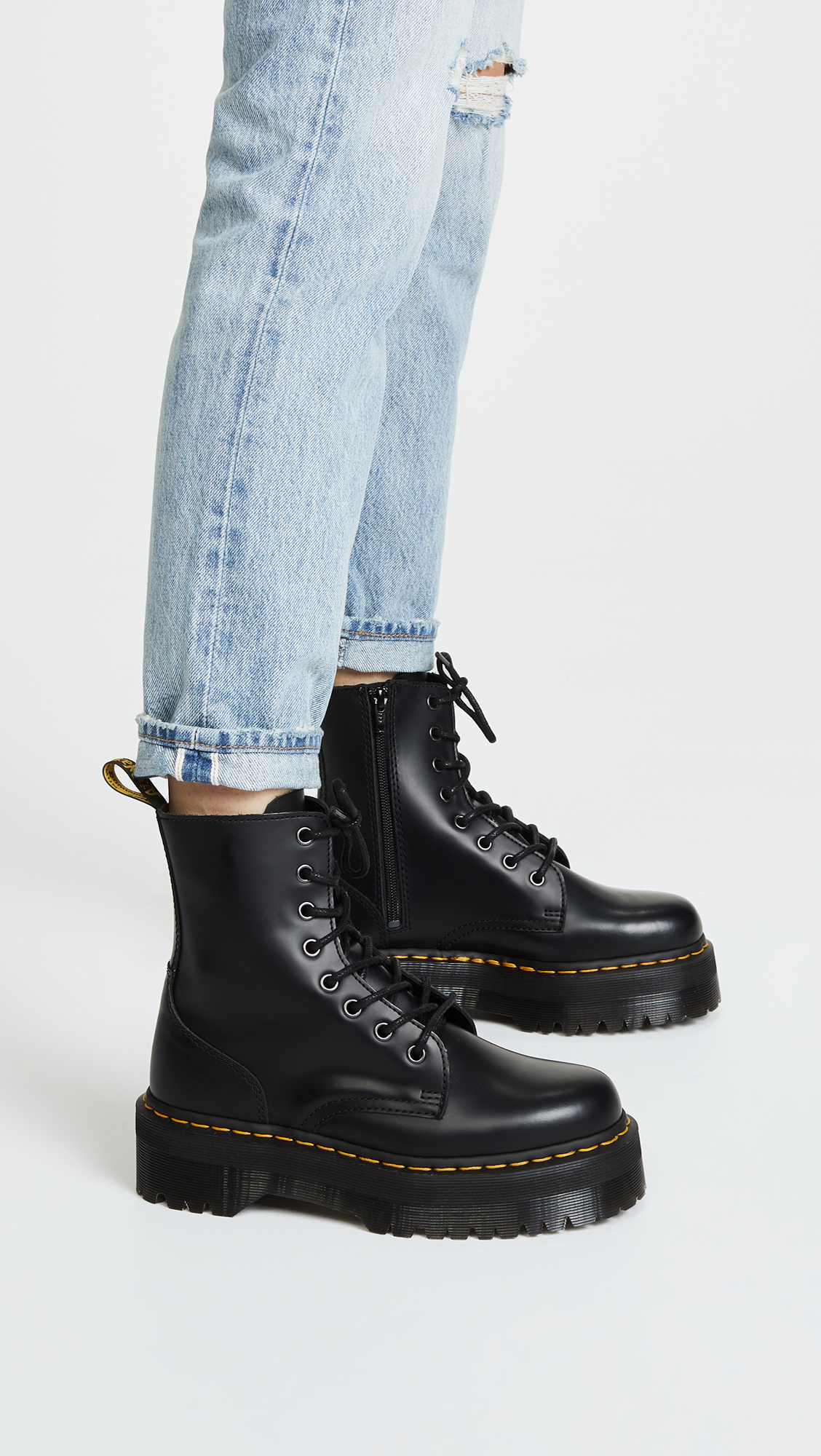 fashionable patterns discount sale brand quality Dr. Martens Jadon 8 Eye Boots | SHOPBOP SAVE UP TO 50% NEW ...
