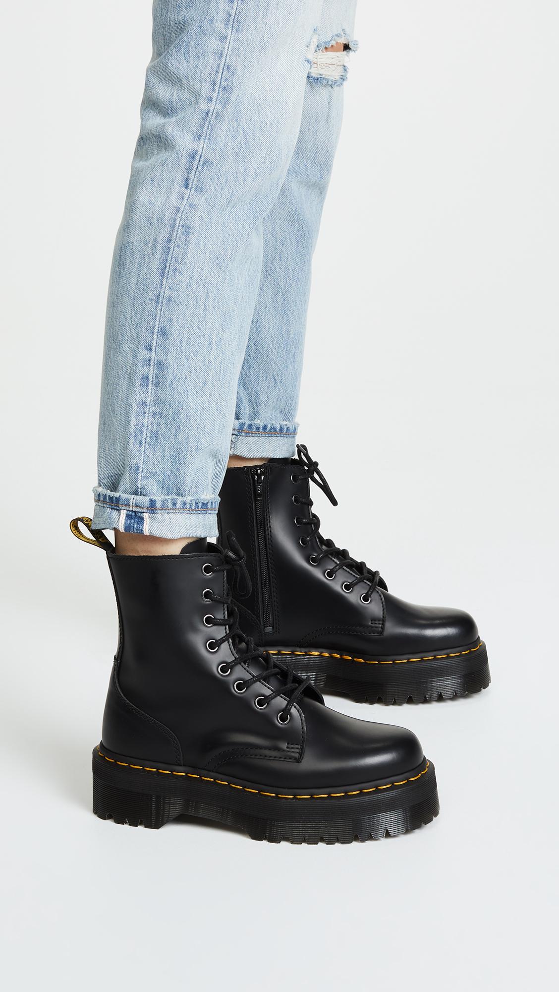 cc9a3d20cb1 Dr. Martens Jadon 8 Eye Boots