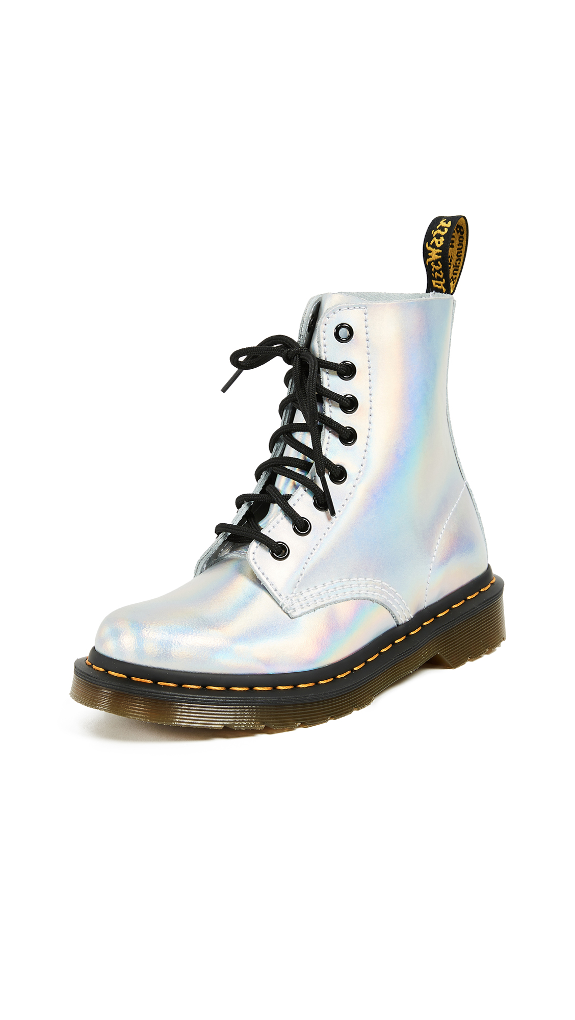 Dr. Martens Pascal IM Boots - Silver Laser