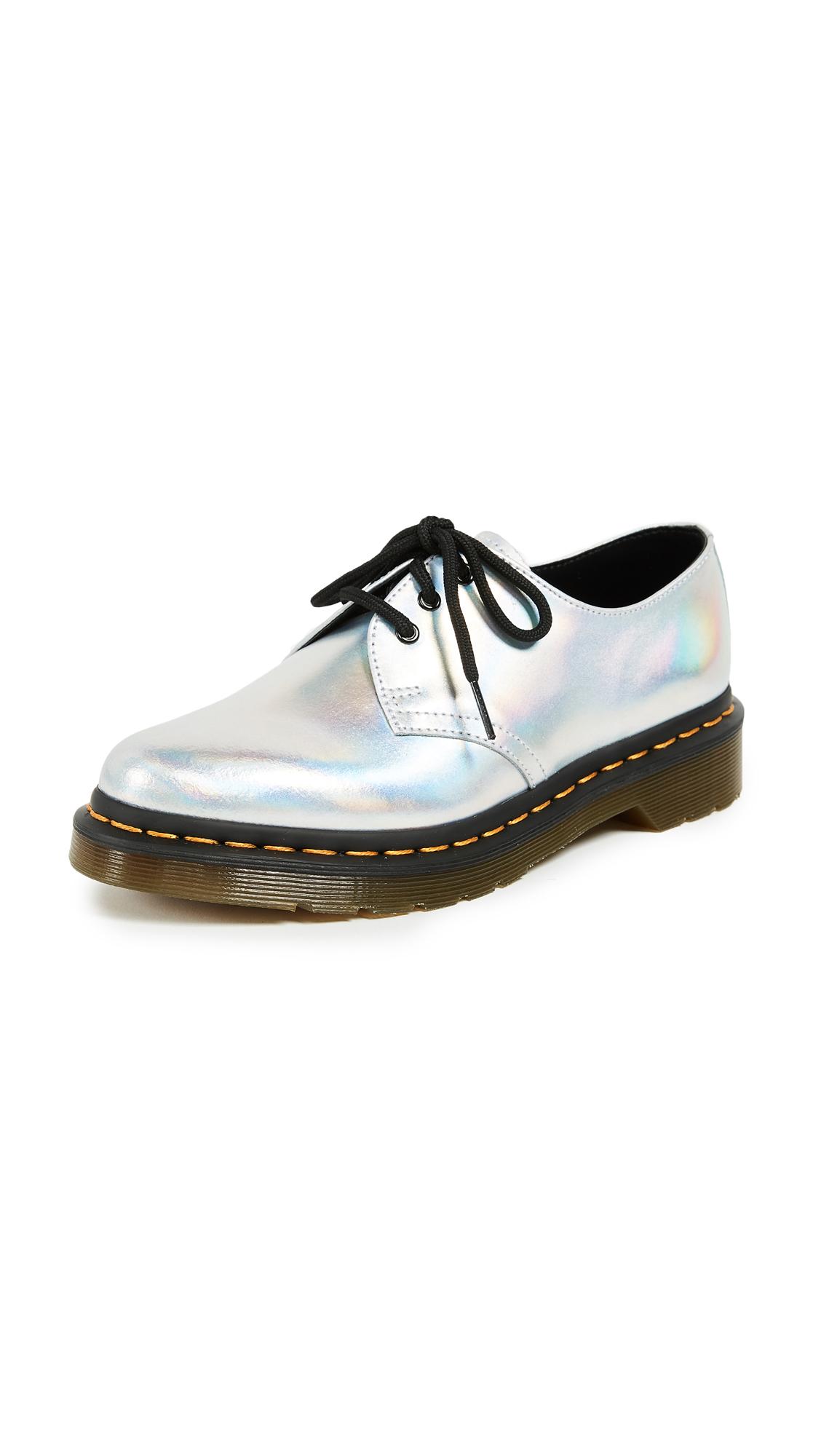 Dr. Martens 1461 IM Shoes - Silver Laser