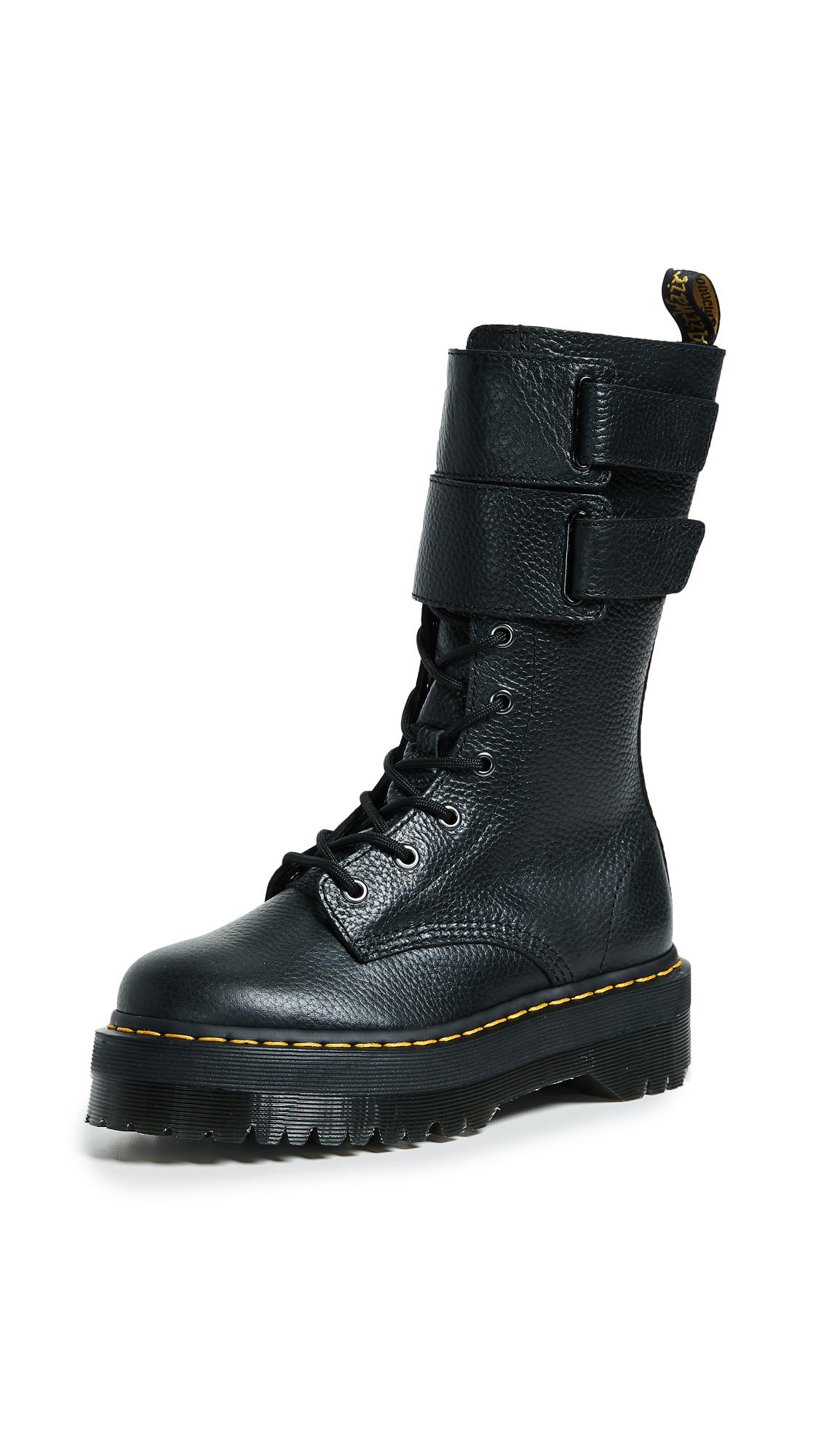 Dr. Martens Jagger 10 Eye Boots - Black
