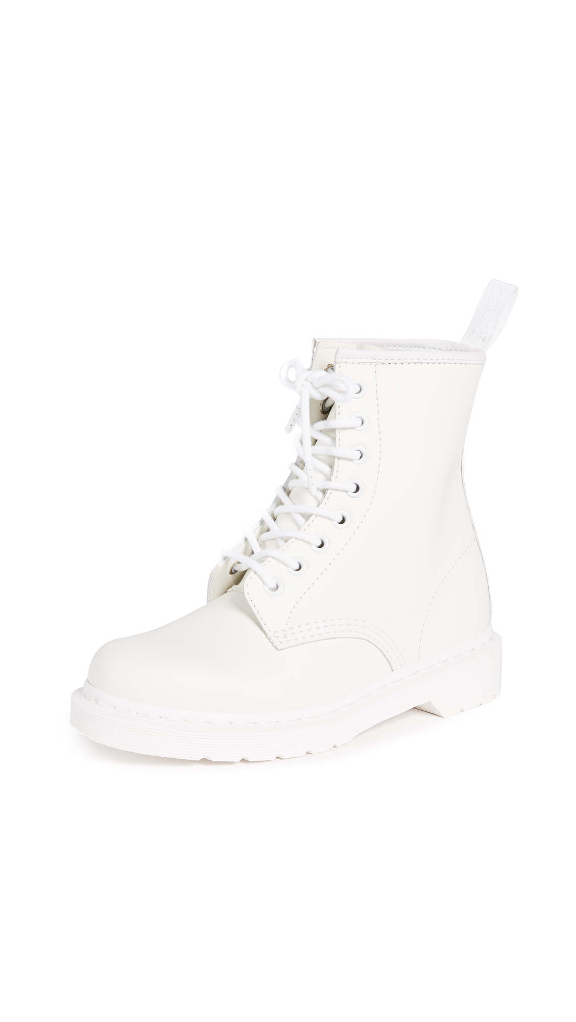 Dr. Martens 1460 Mono 8 Eye Boot - White
