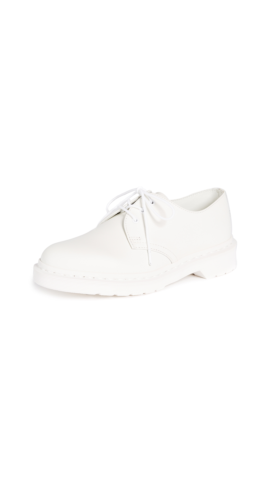 Buy Dr. Martens 1461 Mono 3 Eye Shoe online, shop Dr. Martens