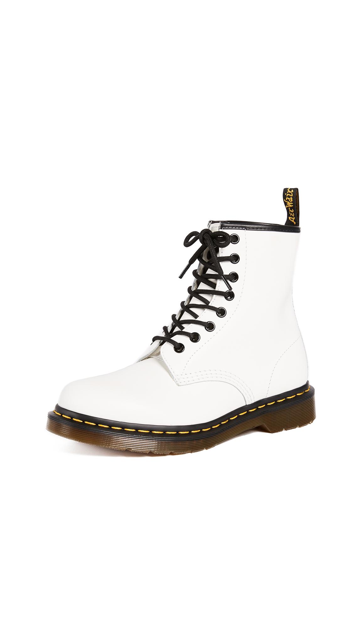 Dr. Martens 1460 8 Eye Boot - White