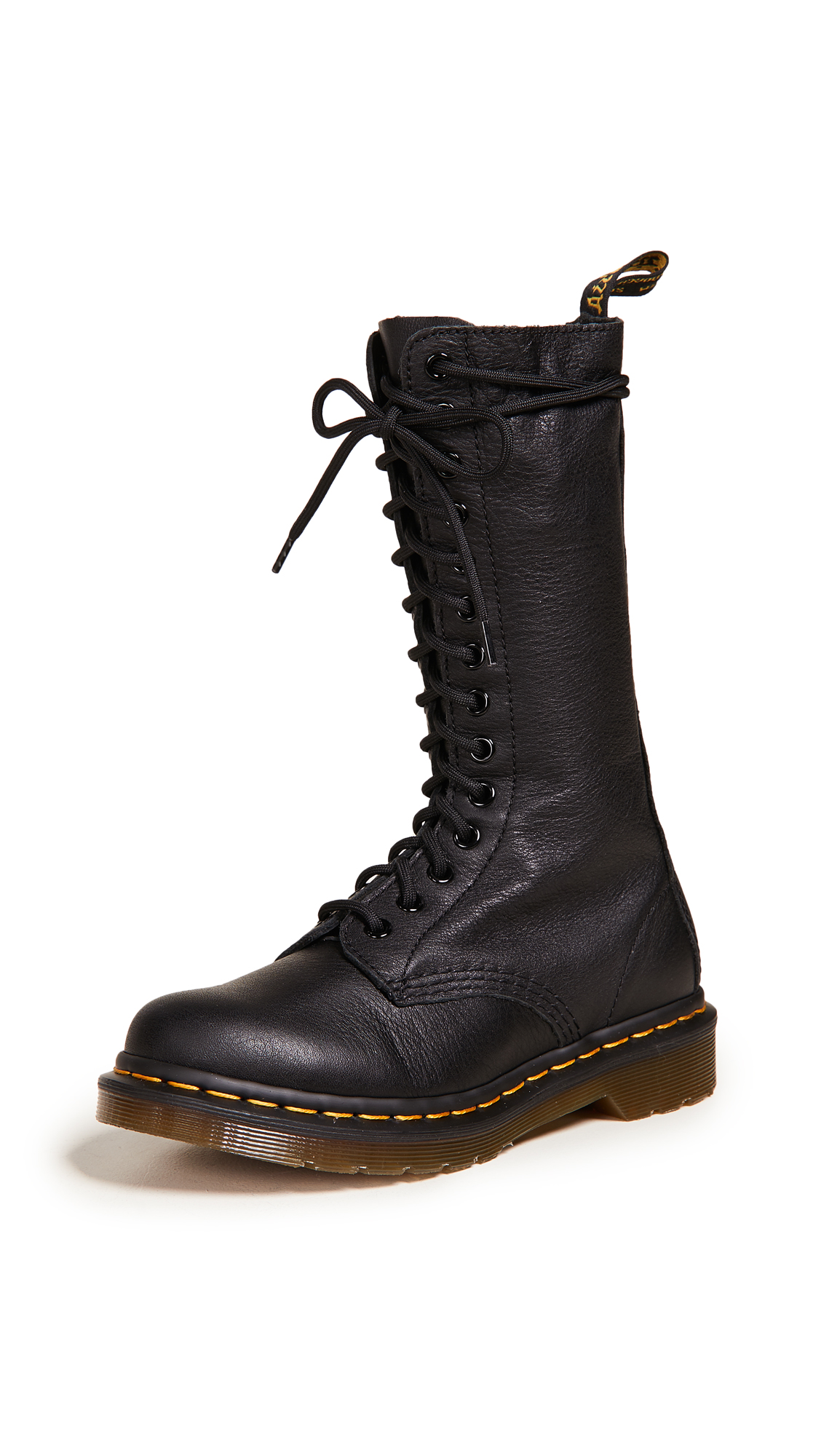 Dr. Martens 14 Eye Zip Boots - Black