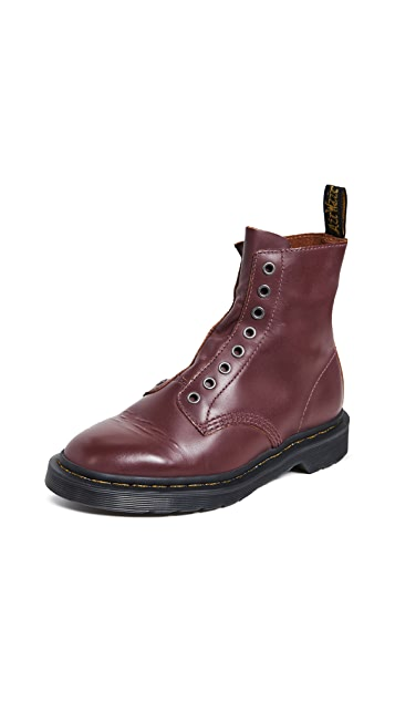 Photo of  Dr. Martens 1460 LL 8 Eye Boots- shop Dr. Martens Boots, Flat online sales