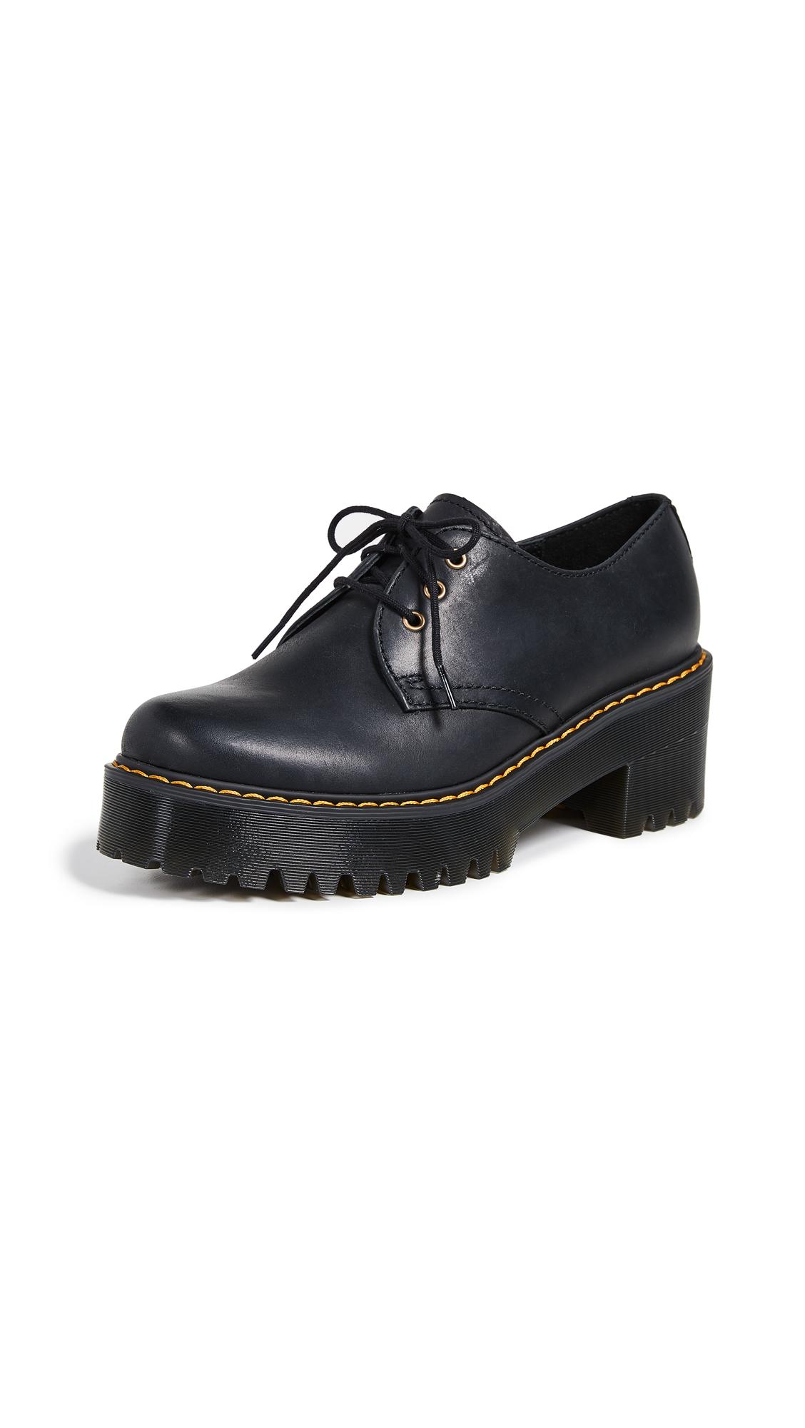Dr. Martens Shriver Low 3 Eye Shoes - Black