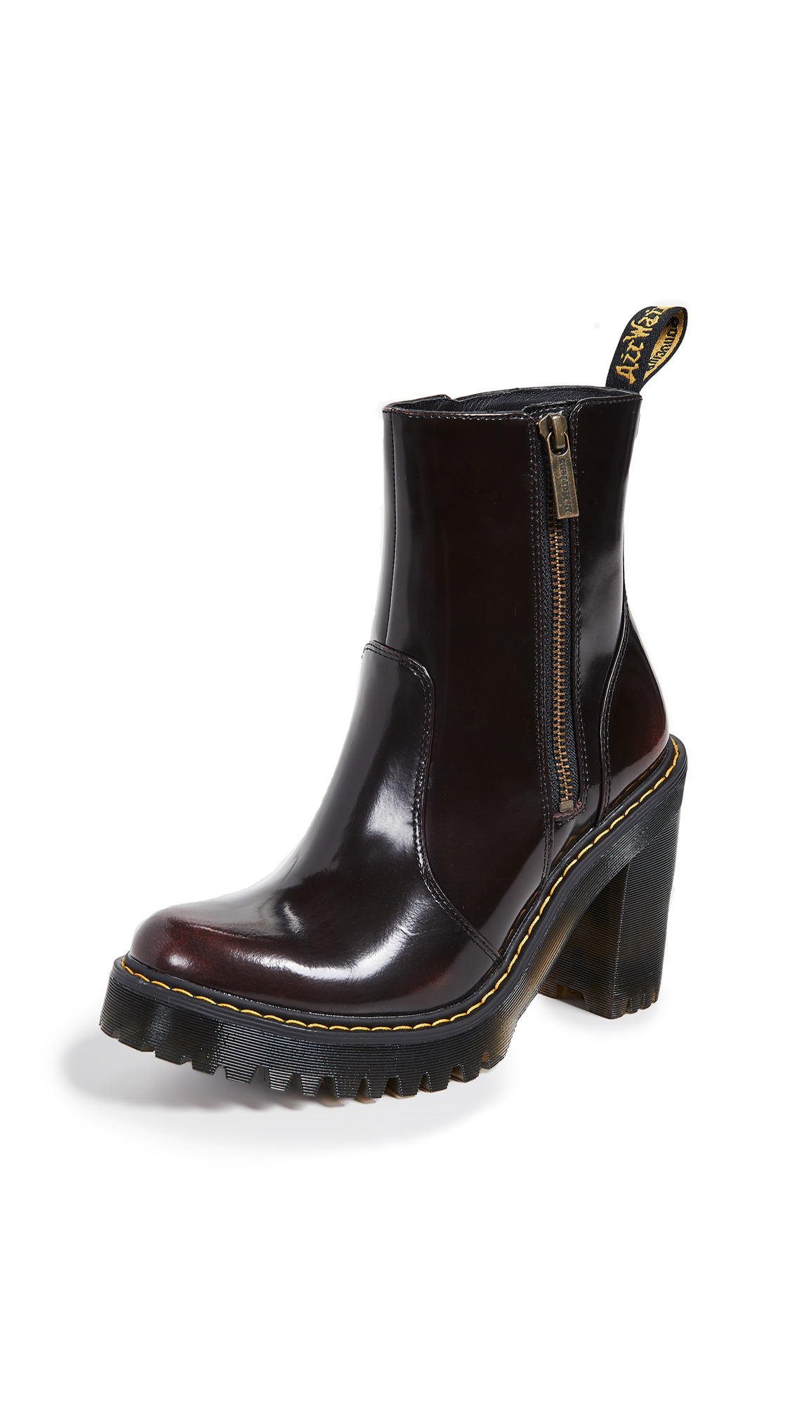 Dr. Martens Magdalena II Ankle Boots - Cherry Red