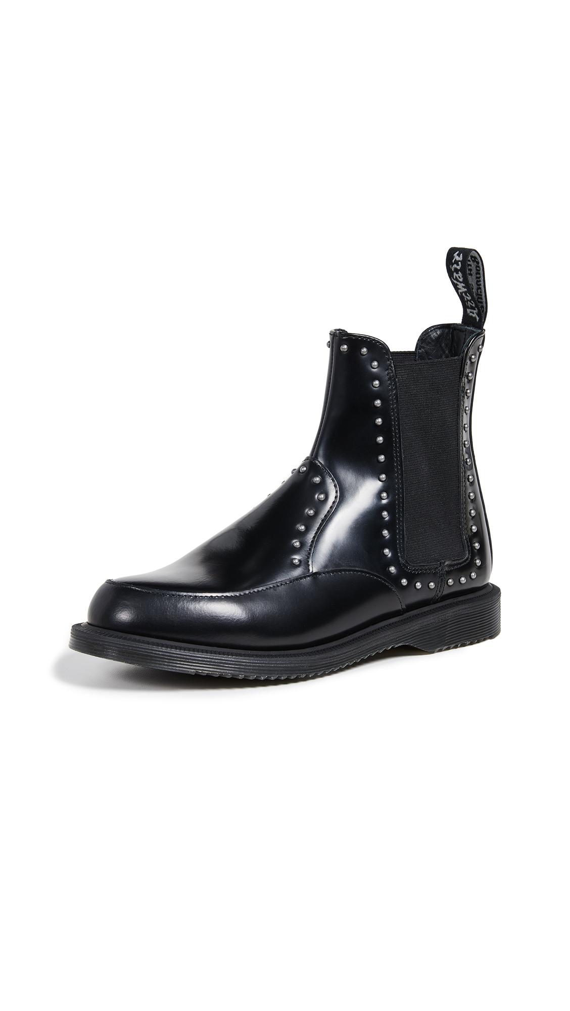 Dr. Martens Aimelya Stud Chelsea Boots - Black