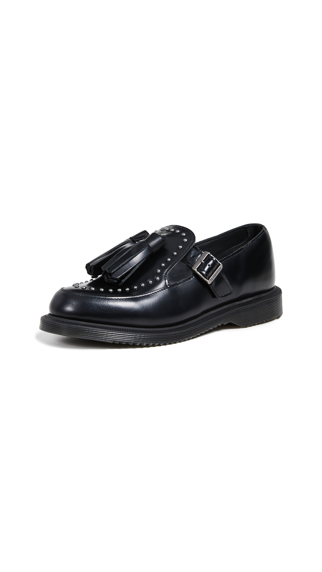 Dr. Martens Gracia Stud Mary Jane Shoes - Black