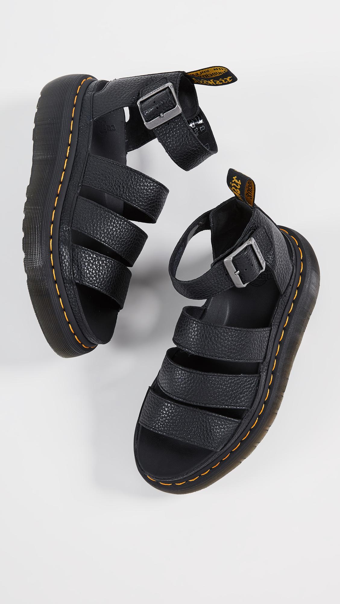 7129a4e4dab3 Dr. Martens Clarissa II Quad Sandals