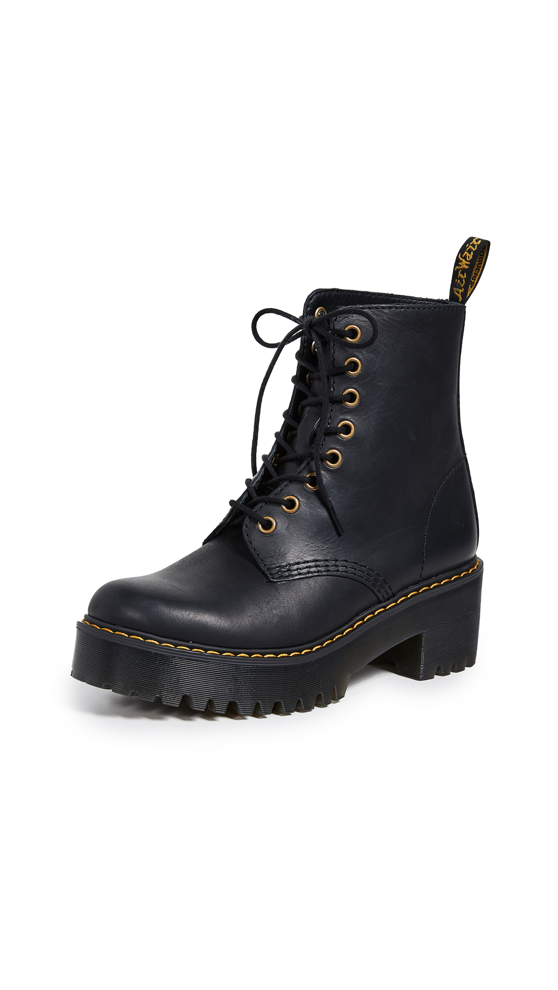 Dr. Martens Shriver 8 Eye Boots - Black