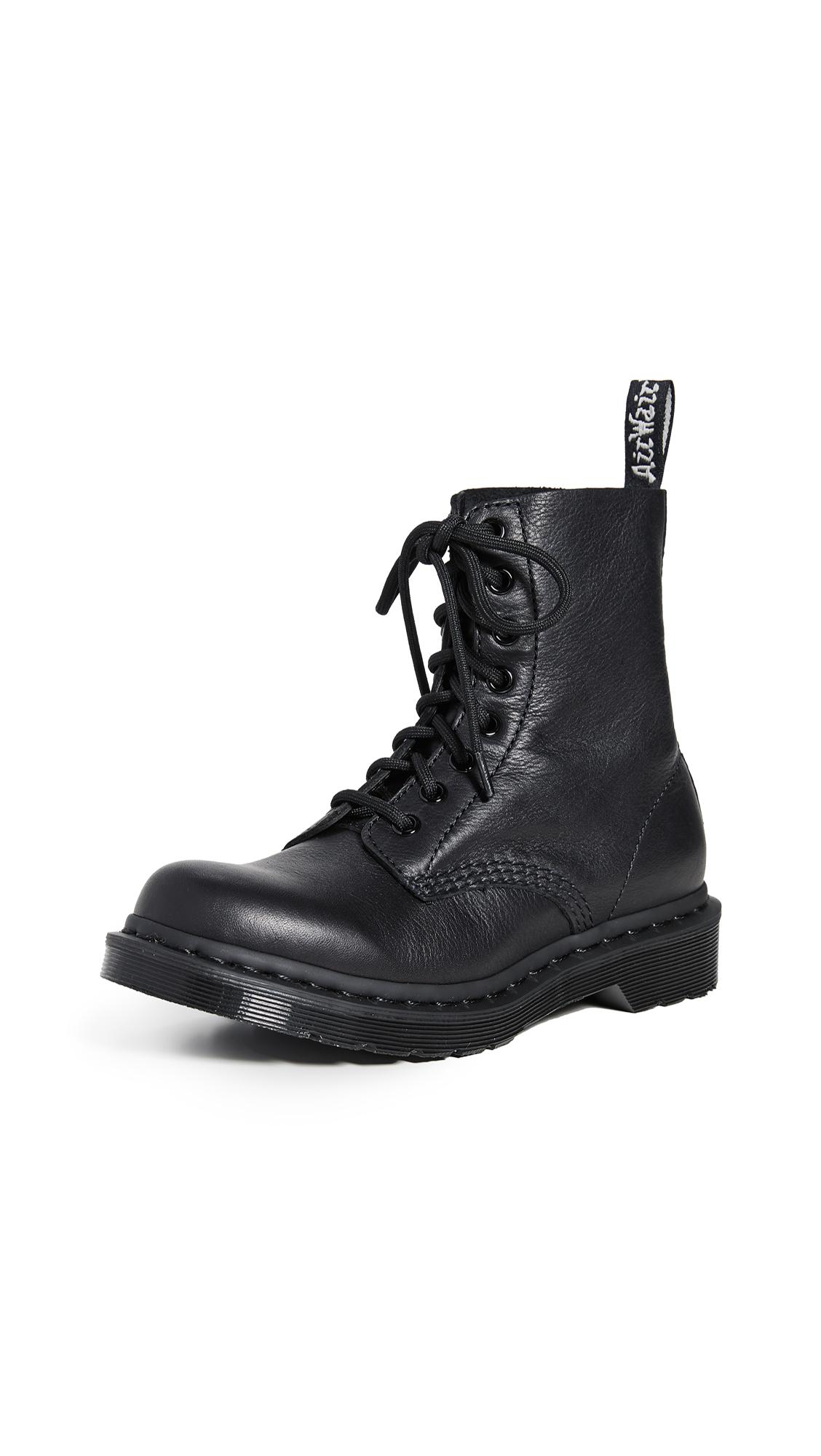 Buy Dr. Martens 1460 Pascal Mono 8 Eye Boots online, shop Dr. Martens