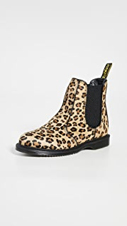 Dr. Martens Flora Hair On Chelsea Boots