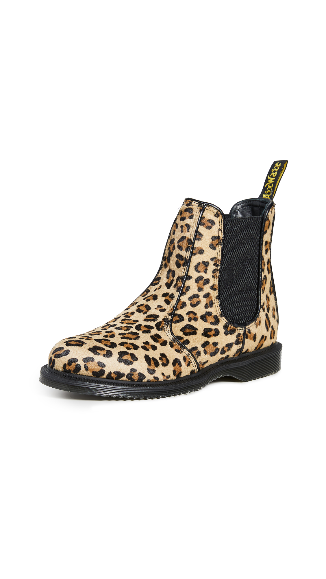 Buy Dr. Martens Flora Hair On Chelsea Boots online, shop Dr. Martens