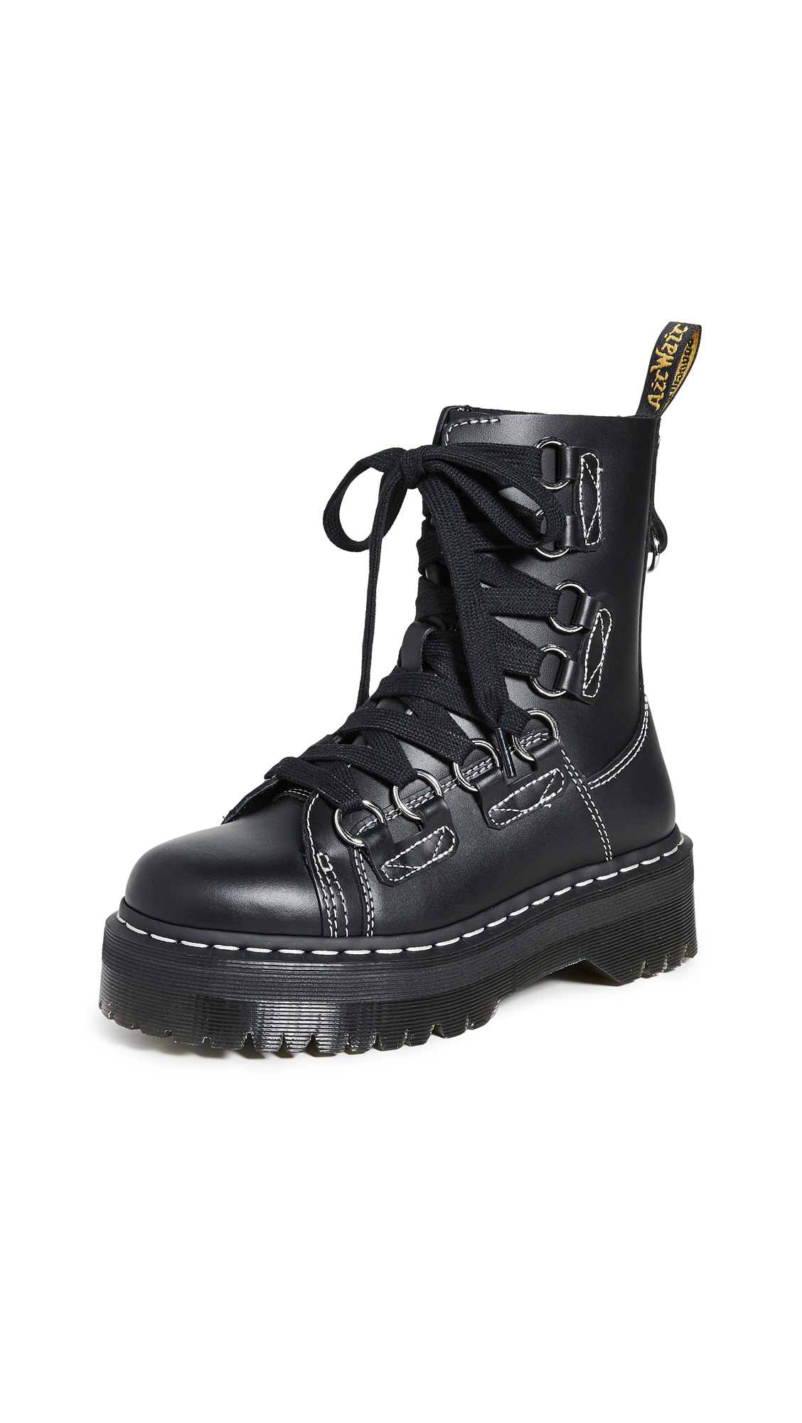 Buy Dr. Martens Jadon XL 8 Eye Boots online, shop Dr. Martens