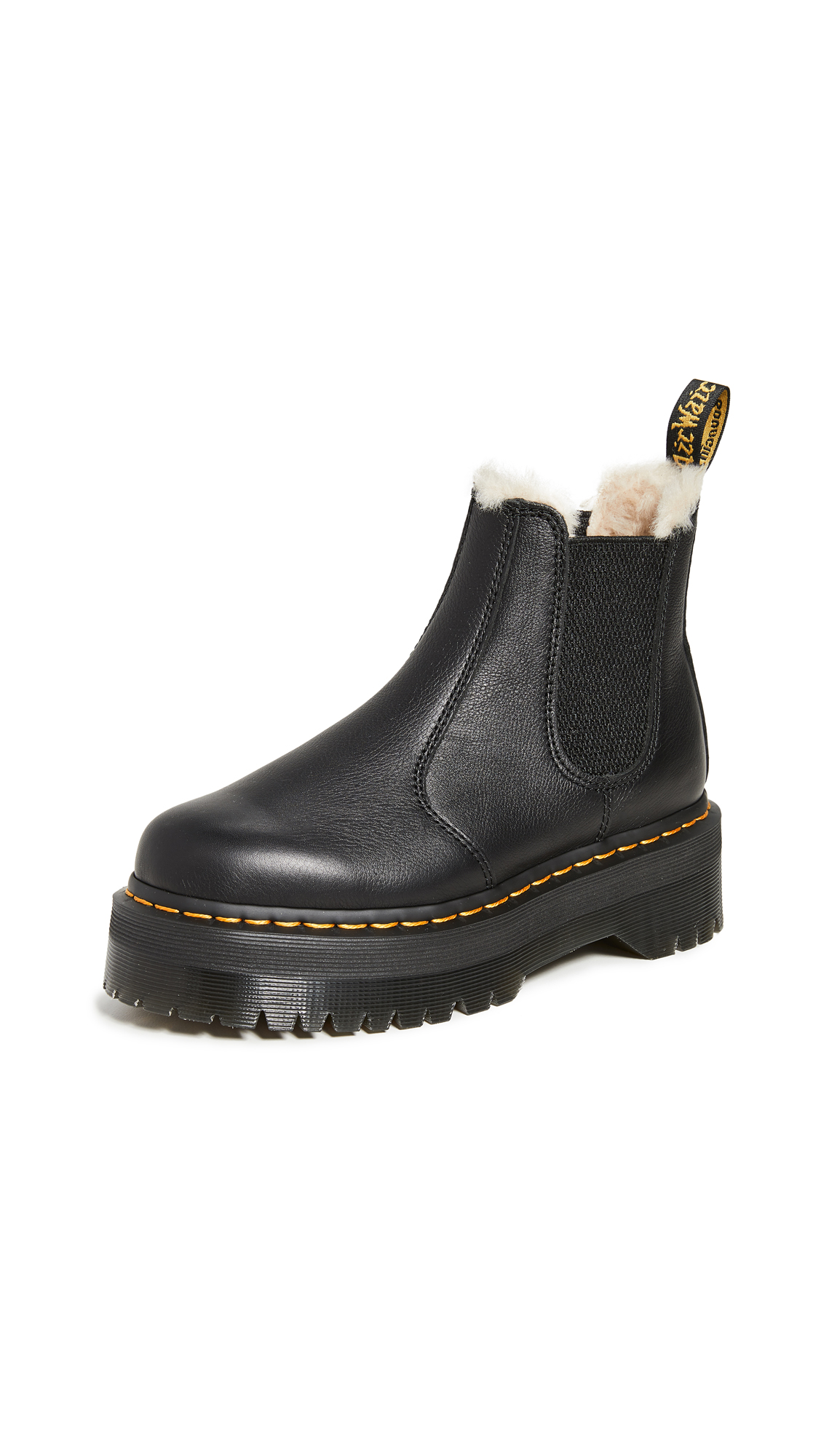 Buy Dr. Martens 2976 Quad FL Boots online, shop Dr. Martens