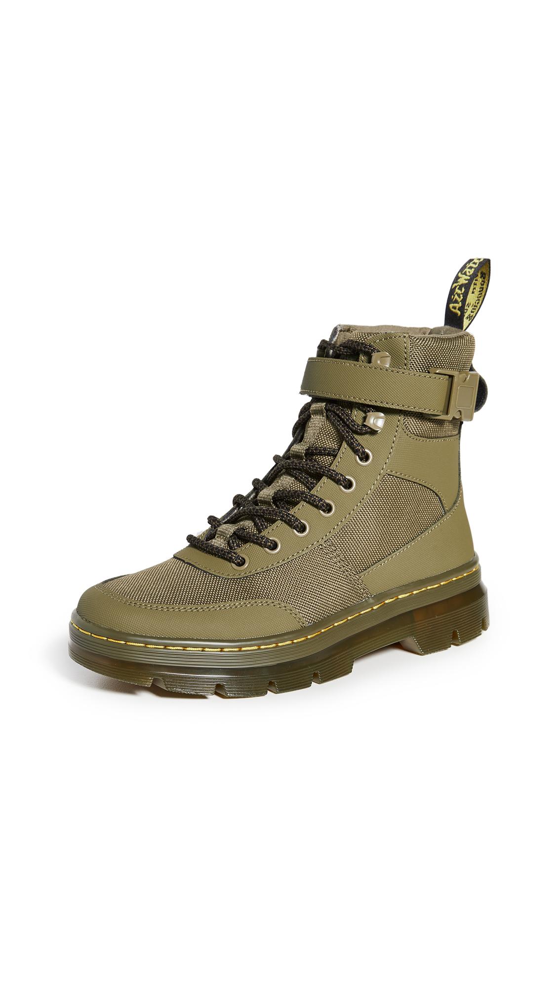 Buy Dr. Martens Combs Tech 8 Tie Boots online, shop Dr. Martens