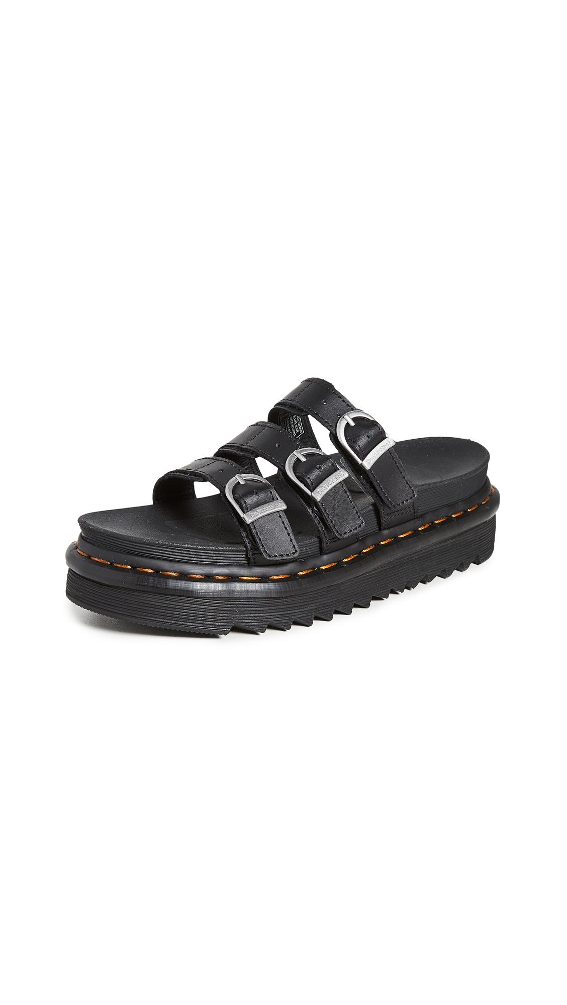 Buy Dr. Martens Blaire Slide Sandals online, shop Dr. Martens