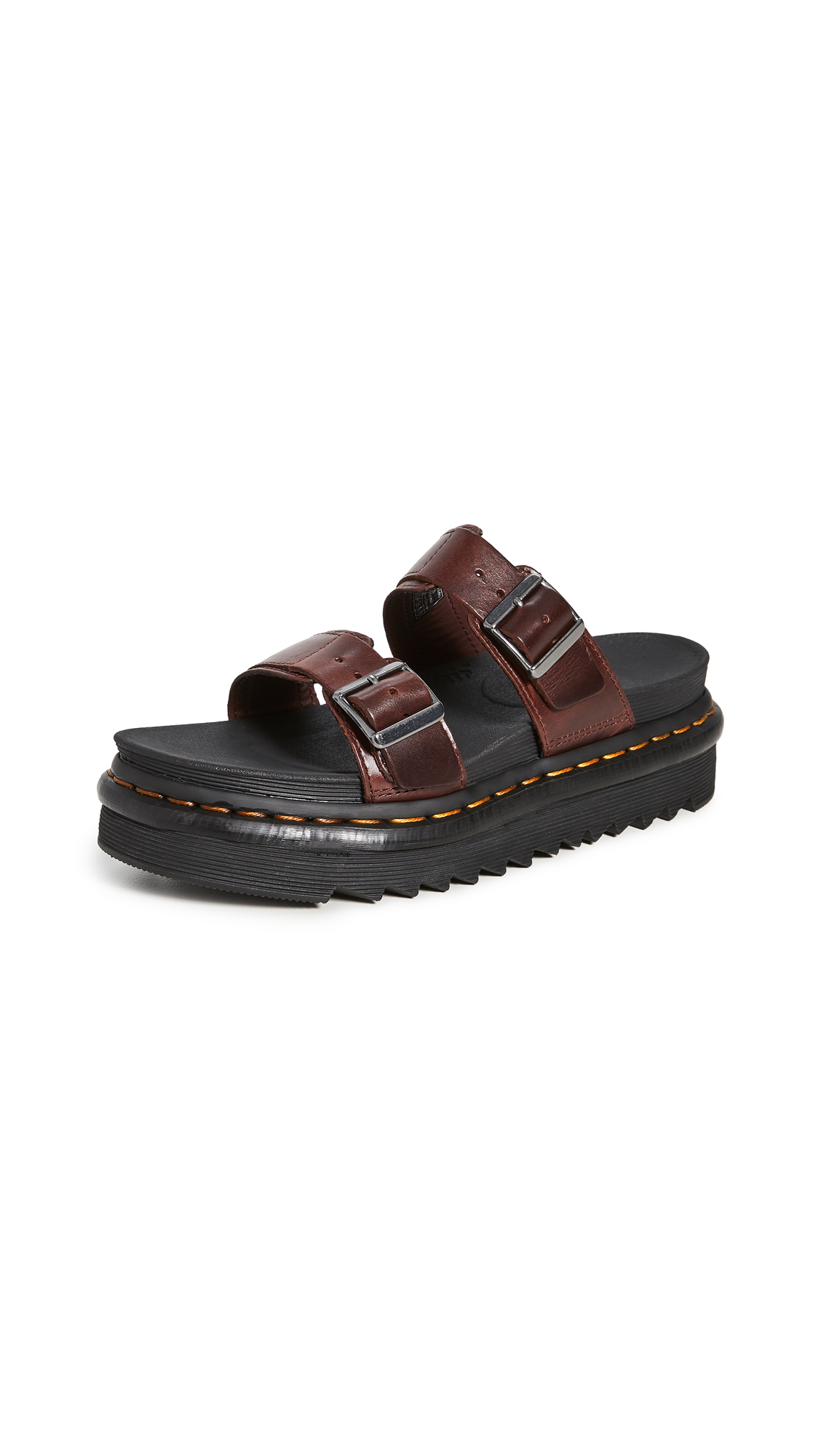 Buy Dr. Martens Myles Slide Sandals online, shop Dr. Martens