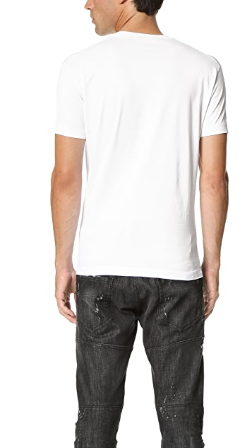 DSQUARED2 Chic Dan Fit Printed Tee