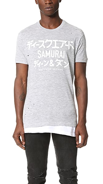 DSQUARED2 Punk Manga Gang Tee