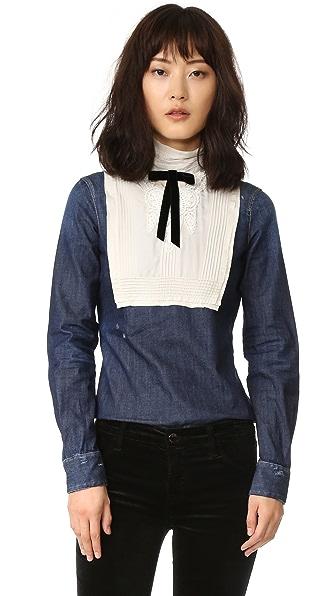 DSQUARED2 Рубашка в викторианском стиле