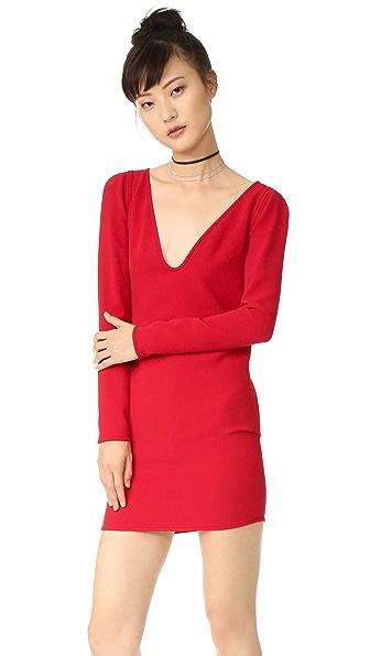 DSQUARED2 Платье с V-образным вырезом