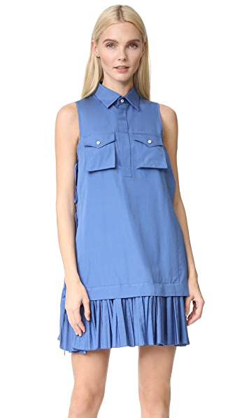 DSQUARED2 Sleeveless Dress - Light Blue