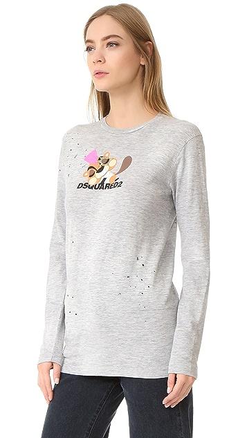 DSQUARED2 Long Sleeve T-Shirt