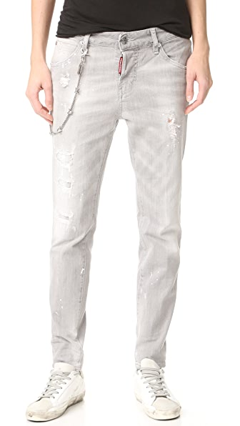 DSQUARED2 Cool Girl Jeans - Grey