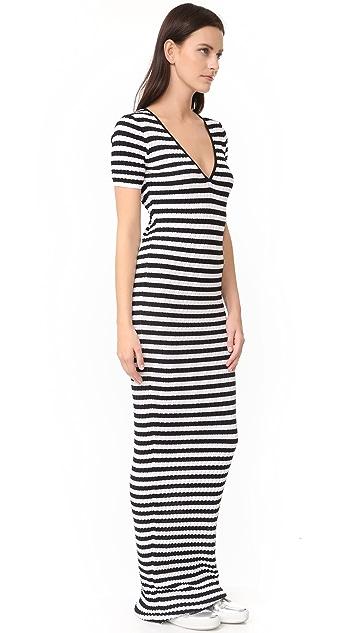 DSQUARED2 Striped Maxi Dress