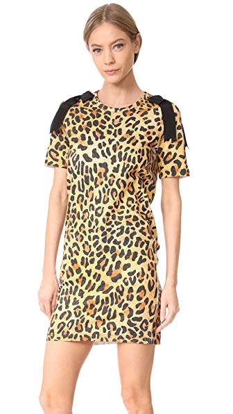 DSQUARED2 Leopard Jersey Dress