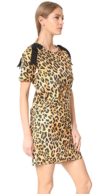 DSQUARED2 Leopard Jersey Dress