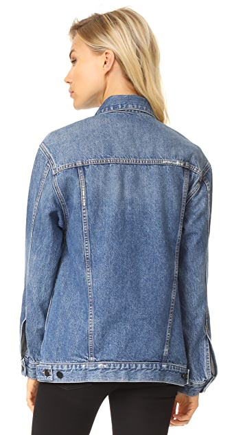Denim x  Alexander Wang Daze Oversized Denim Jacket