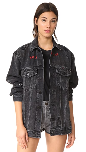Denim x  Alexander Wang Daze No After Party Jacket