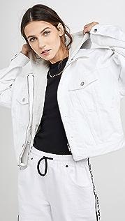 Denim x  Alexander Wang Runway Game Jacket