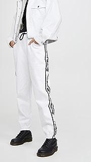 Denim x  Alexander Wang 牛仔布运动裤