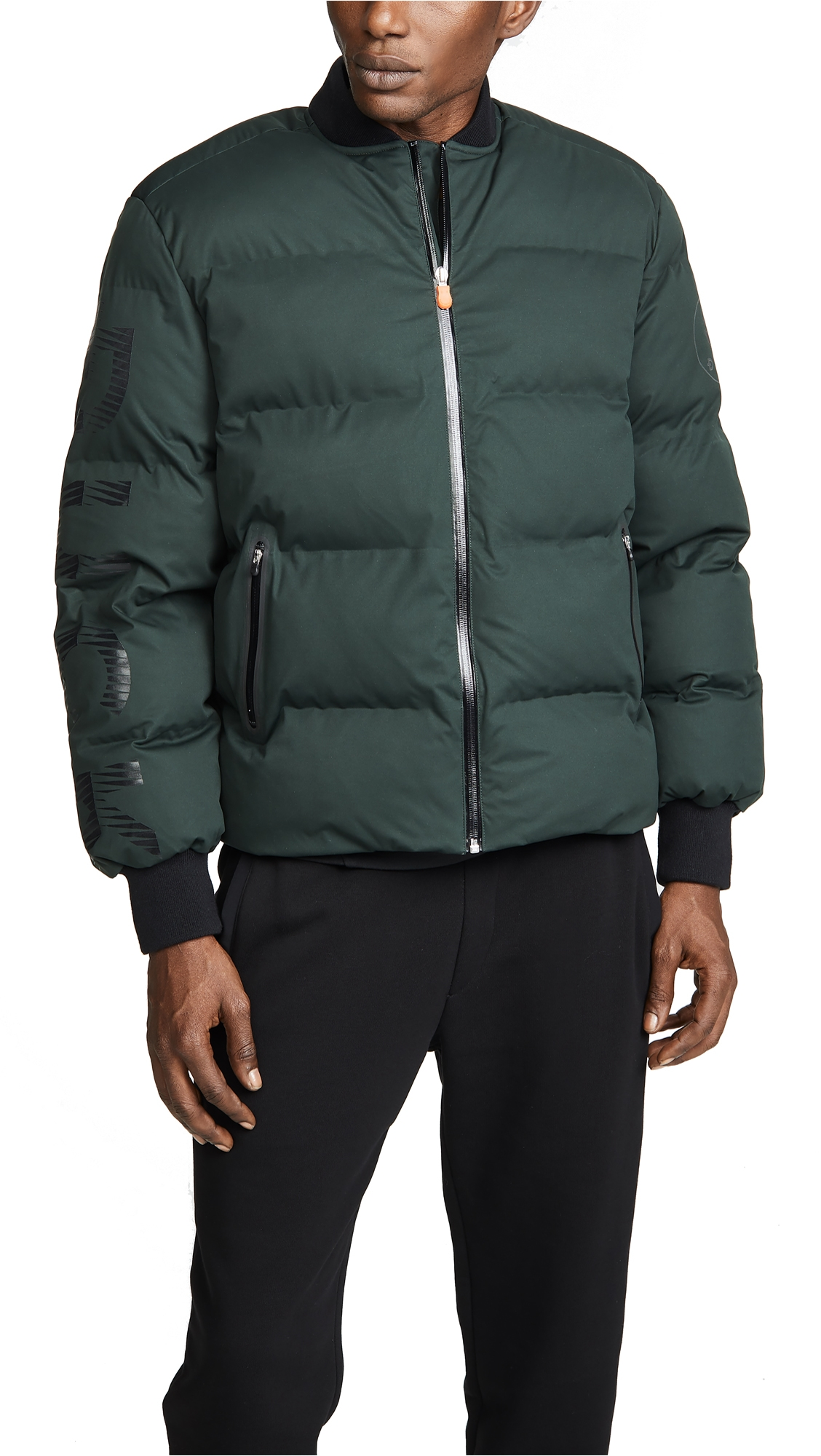 DYNE X Save The Duck Jacket in Dark Green